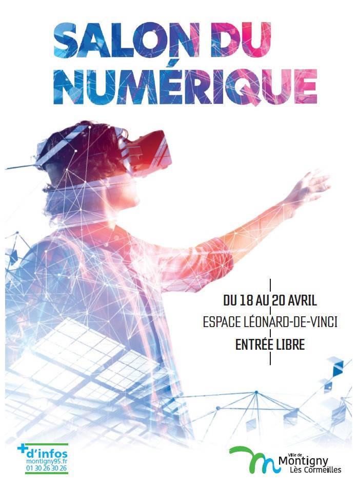 Montigny-lès-Cormeilles organise son 1er salon du numérique, du 18 au 20 avril 2019